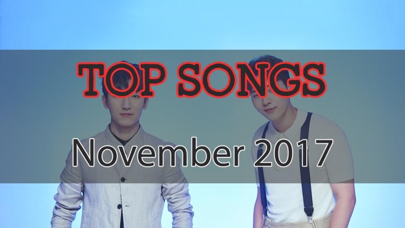 november top songs